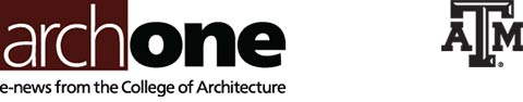 arch|one e-newsletter